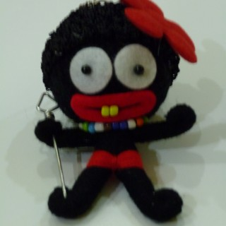 Voodoo String Doll 671